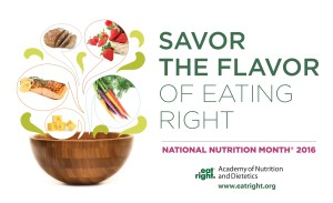 2016 National Nutrition Month®