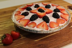 Berry Benefits & Light Freezer Berry Pie
