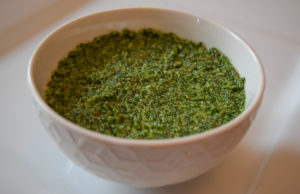 Quick Kale Almond Pesto