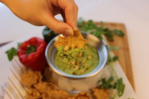 Raw Green Pea & Avocado Dip