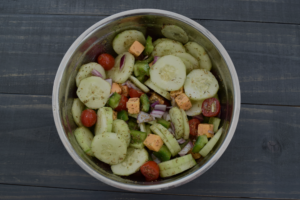 The Ultimate Cucumber Salad