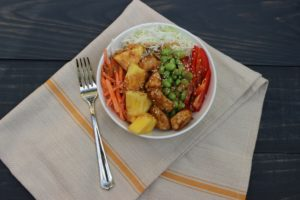 Chicken Grain Bowl Nourished NCE 1