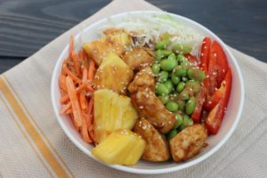 Chicken Grain Bowl Nourished NCE 2